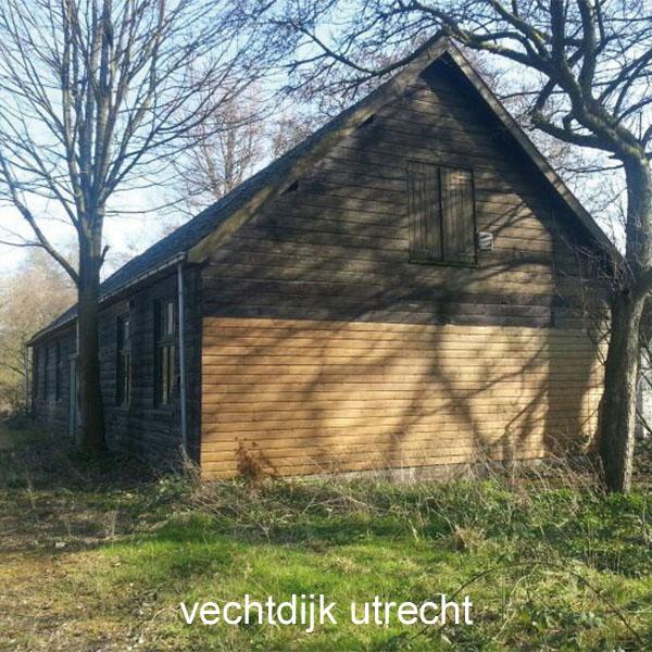 Ontwerp voor twee bajonetgeschakelde woningen aan de Vechtdijk in Utrecht
