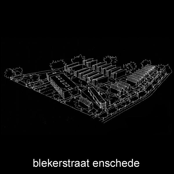 Stedenbouwkundige studie Blekerstraat en omgeving in Enschede