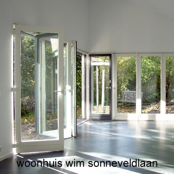 Verbouwing woonhuis aan de Wim Sonneveldlaan in Utrecht