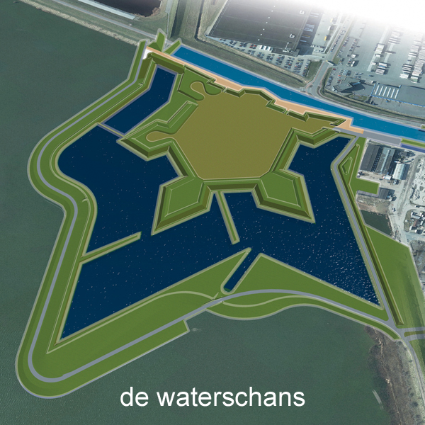 De Waterschans in Bergen op Zoom