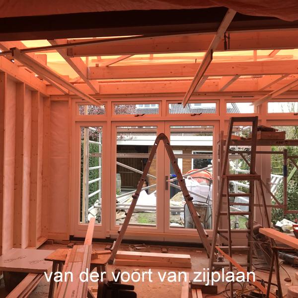 Uitbreiding woning aan de Van der Voort van Zijplaan in Utrecht